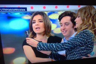 ¿Le hizo un 'simpa' el Pequeño Nicolás a la presentadora de televisión Mariló Montero?