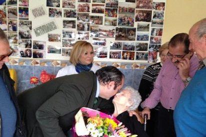 Maxi Rubio, vecina de Mérida, cumple 101 años