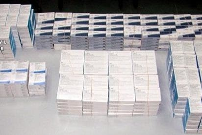 La Guardia Civil interviene medio millar de cajas de anabolizantes-esteroides