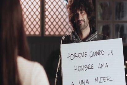 Melendi lanza 'La promesa', su nuevo videoclip con un guiño a 'Love Actually'