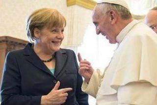 Merkel concretará con el Papa la agenda del G-7 sobre pobreza y medioambiente
