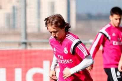 El Madrid recupera a Modric: Ancelotti podría darle minutos ante el Elche