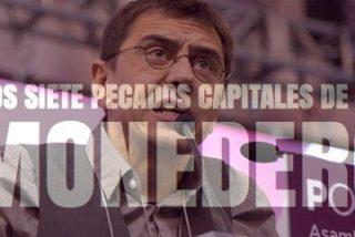Las siete mentiras capitales de Juan Carlos Monedero a Hacienda