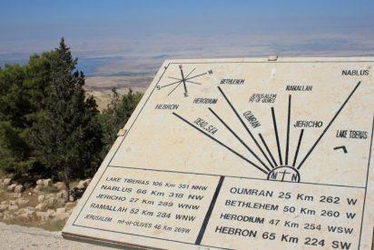 Moisés y Monte Nebo bajo las bombas