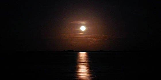 """Postales del Mundo/ """"Moonrise"""" en Sian-Ka´an"""