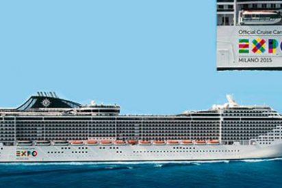 MSC Cruceros, nombrada Compañía de Cruceros Oficial de la Expo Milán 2015