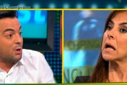 """Nacho Peña se atreve con la insensibilidad de Carme Barceló: """"Te las coges con papel de fumar hija mía"""""""