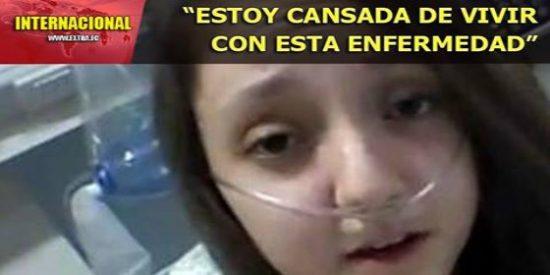 """Oídos sordos a la petición de eutanasia de esta niña: """"Quiero dormir para siempre"""""""