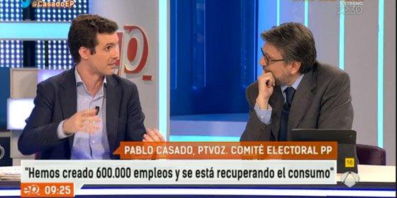 """Ignacio Camacho machaca a Pablo Casado por la demora en nombrar candidatos en el PP: """"Es un desprecio al electorado"""""""
