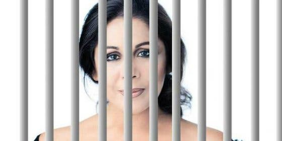 """Le roban las bragas a Isabel Pantoja en la cárcel por dar el cante en plan """"chivata"""""""