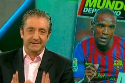 Pedrerol se venga de 'Mundo Deportivo' recordando una pifia tremenda en su portada