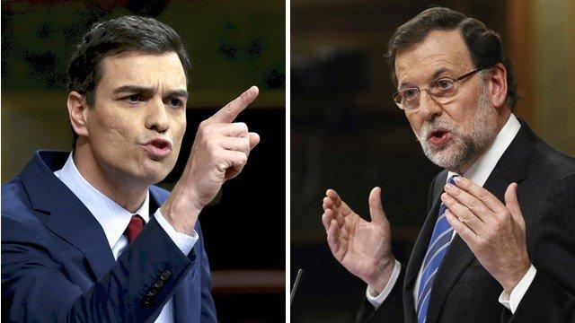 Rajoy aprovecha un error de principiante de Sánchez para vapulearle