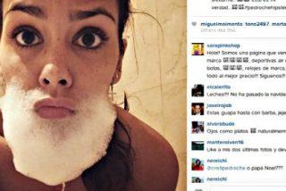 Cristina Pedroche revoluciona Instagram con una foto 'barbuda'... ¿y desnuda?