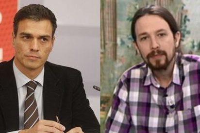 """Ignacio Camacho: """"Detrás de un Sánchez sin oxígeno emerge el perfil coletudo de Iglesias como receptor del voto útil de la izquierda"""""""