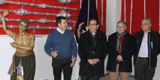 El Ayuntamiento de Mérida sufragará la restauración de cinco imágenes de la Hermandad del Calvario