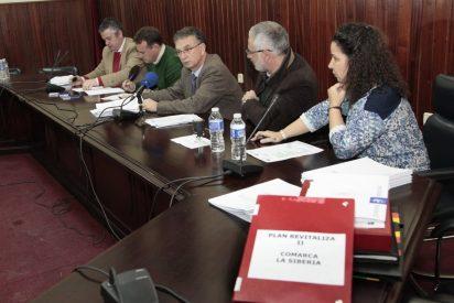 Diputación de Badajoz concede 460.013 euros a municipios de La Siberia