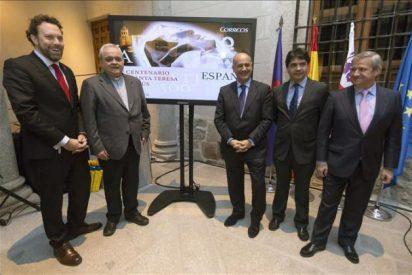 Correos dedica a Santa Teresa una de sus mayores tiradas de sellos