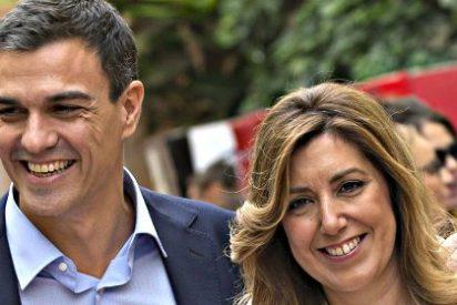 """Jiménez Losantos: """"Pedro Sánchez no tiene fuerza para echar también por corrupción a Susana Díaz"""""""