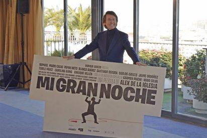 Raphael vuelve al cine con 'Mi gran noche' de Álex de la Iglesia