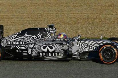 Red Bull presenta el coche más hortera de la parrilla de la Fórmula 1