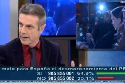 "Riobóo deja al descubierto la cueva de Iglesias y Monedero: ""Me pregunto si les asesoraba Alí Babá"""