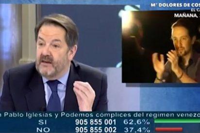 Bieito Rubido le pinta la cara a Pablo Iglesias por 'fumarse' su trabajo en Bruselas para dar un mitin en Madrid