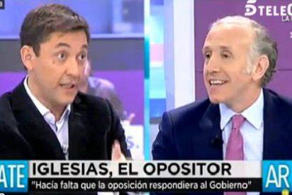 """Javier Ruiz saca la artillería para defender a capa y espada a Iglesias: """"¡Os puede el odio a Podemos!"""""""