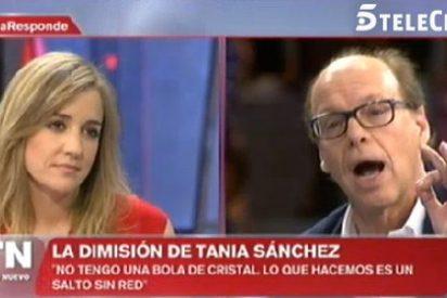 """San Sebastián y González le borran la sonrisa a Tania Sánchez: """"Eres una desleal y una traidora a IU"""""""
