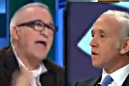 "Eduardo Inda le sacude a Xavier Sardà: ""¿Tú crees que no aburres a las ovejas cuando hablas?"""