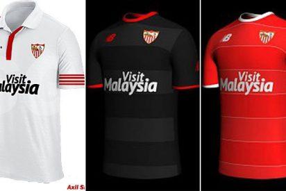 ¿Son las nuevas camisetas del Sevilla?
