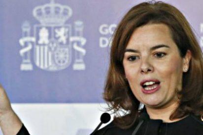 Soraya Sáenz de Santamaría arremete contra Ciudadanos de Albert Rivera
