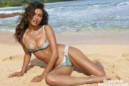 Irina Shayk se luce en bikini