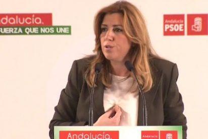 """Susana Díaz: """"Tiene que decidir la gente, tiene que hablar Andalucía como sabe: en las urnas"""""""