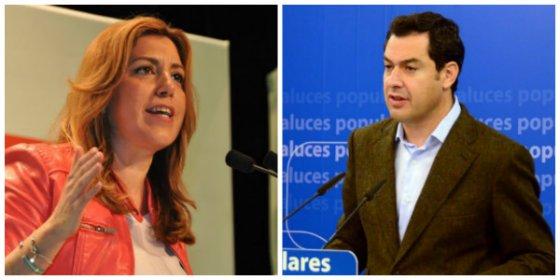 Canal Sur contraprograma a TVE el día que anunciaba el duelo entre Díaz y Moreno