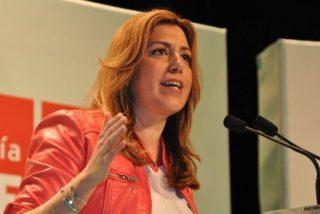 """Susana Díaz: """"El secreto del PSOE-A es nuestra unidad y que siempre ponemos los intereses de las personas por delante"""""""