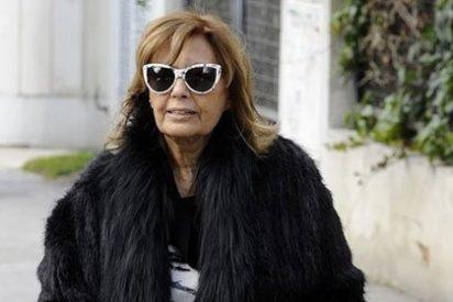 María Teresa Campos está muy pendiente de las obras de su nueva residencia