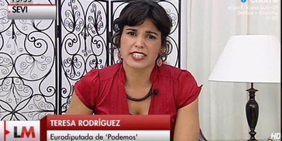 Teresa Rodríguez, del asalto al rectorado al Palacio de San Telmo