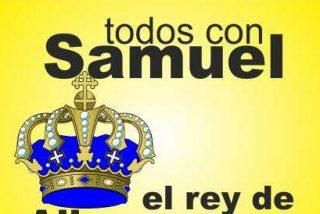 Partido benéfico a favor de Samuel, un niño de Alburquerque (Badajoz) con parálisis cerebral