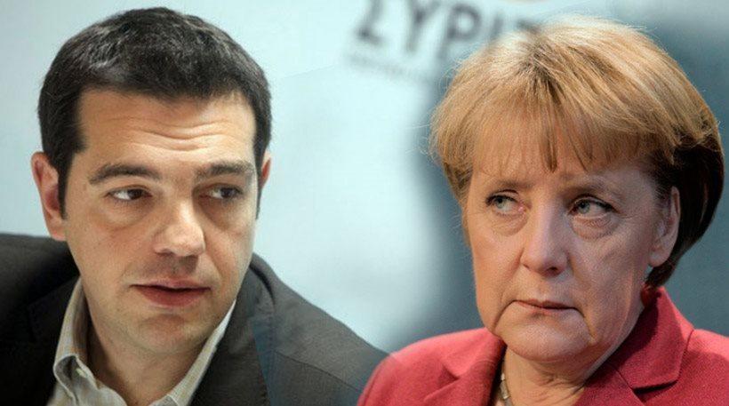 """Merkel y Tsipras mantienen conversación telefónica """"constructiva"""" de casi una hora"""