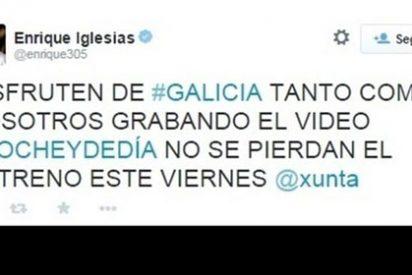 Enrique Iglesias explica que no se ha quedado nada de los 300.000 euros de la Xunta por 'Noche y Día'