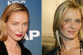 """El curioso vídeo donde Uma Thurman explica lo de su 'cara rara': """"¡Era maquillaje!"""""""