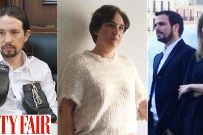 Los 'pijo progres' de Podemos posan glamurosos para Vanity Fair