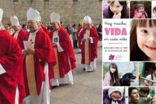 """Los obispos piden """"derogar o reformar"""" la ley del aborto, una de las """"legislaciones injustas"""" en España"""