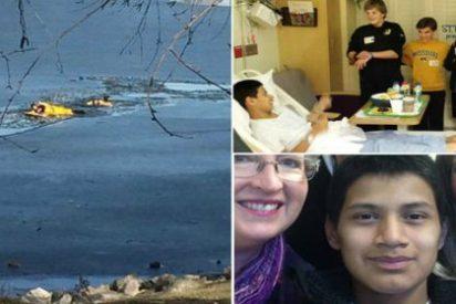 El adolescente que ha vuelto a la vida tras tener 45 minutos el corazón parado
