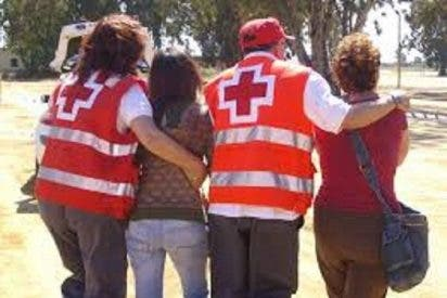 Operativo Sanitario de Cruz Roja en la Feria de los Mayores en Badajoz
