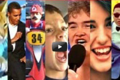 Echa un vistazo a los 101 vídeos más vistos de la historia de YouTube: están resumidos en uno solo