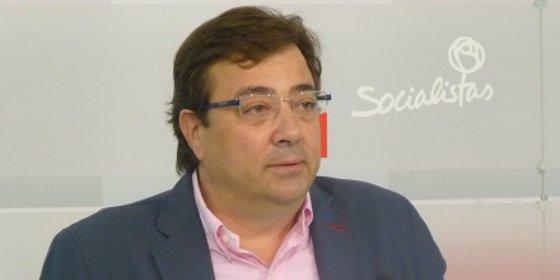 """Fernández Vara: """"Extremadura es más pobre y está más endeudada que hace cuatro años"""""""