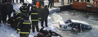 Las fotos de los novios que han muerto abrazados tras caer su coche a un río helado