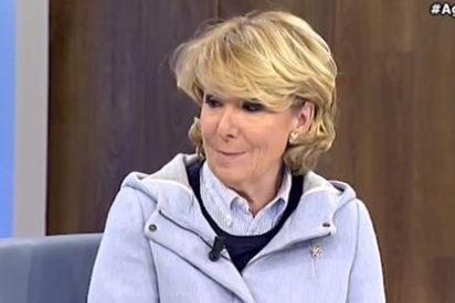 """Esperanza Aguirre teme seguir el camino de Ledezma: """"Si gana Podemos estoy en la Casa de la Villa y me arriesgo a que…Sería de las primeritas…"""""""