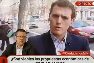 """Albert Rivera: """"Tres televisiones me han propuesto un cara a cara con Pablo Iglesias, pero él no ha querido"""""""